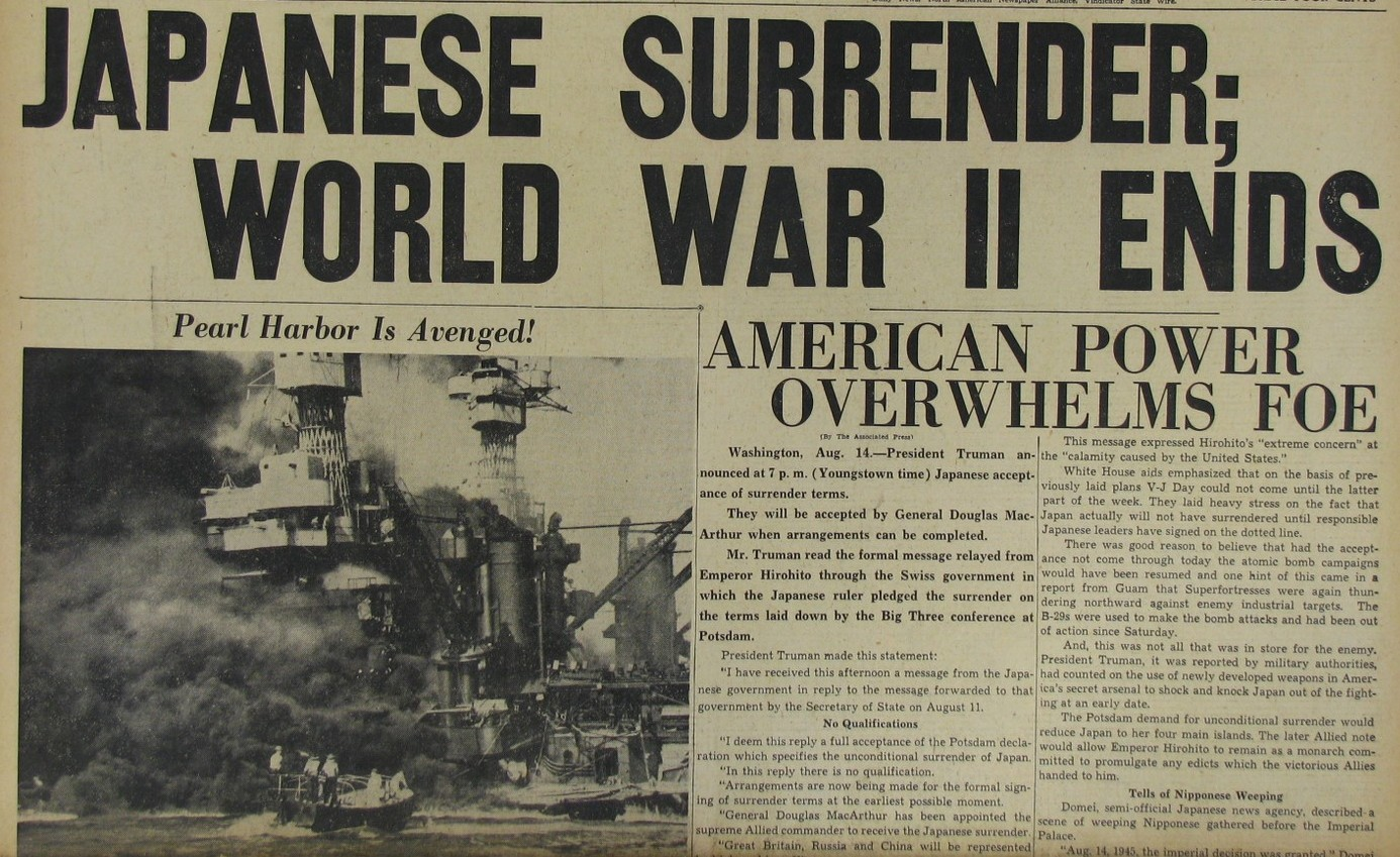 japan surrender date and years it is confirm that surrender of japan ...