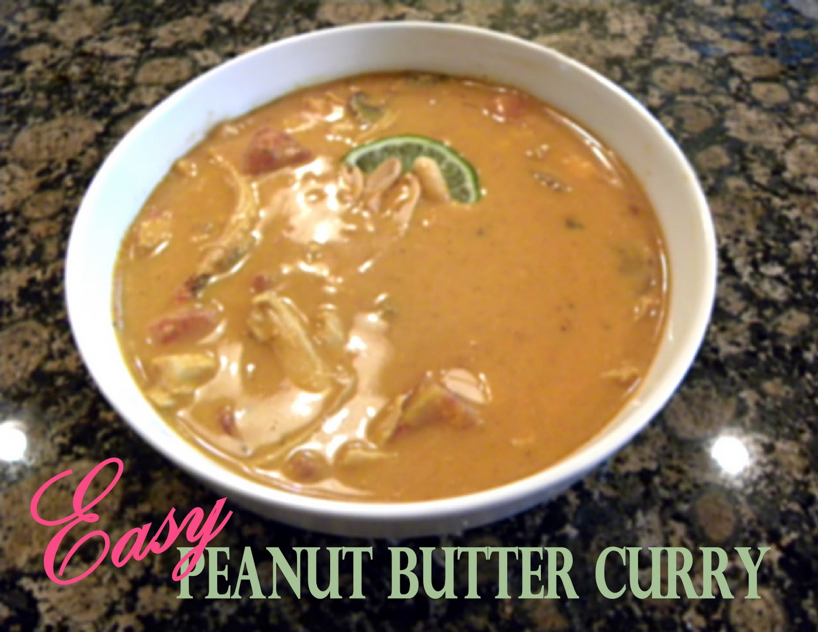 Chicken + Peanut Butter = Delish!