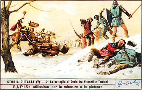 21 gennaio 1277 la battaglia di desio i visconti for Battaglia di milano