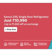Buy Sansui SH223EBR-FDA 215 L Single Door Refrigerator at Rs.10990 : BuyToEarn