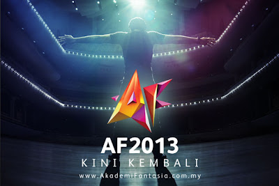 Malaysia, af8, splash_terbaru, artis malaysia, berita, gambar, berita terkini, hiburan, selebriti, Sertai, Ujibakat, Akademi fantasia, 2013, Secara, online