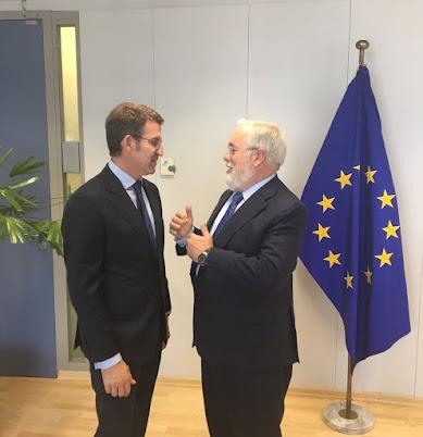 Feijoo en Bruxelas