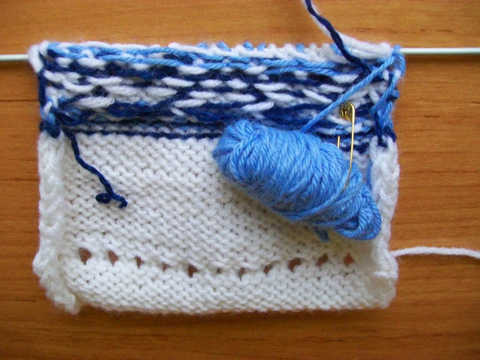 Вязание двумя спицами фото