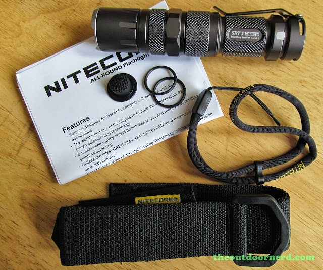 Nitecore SRT3 Defender EDC Flashlight: Unboxed