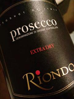 写真:スプマンテ「RIONDO EXTRA DRY」のラベル