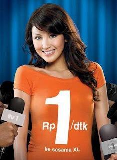 Sharena Rizky Dalam Iklan XL