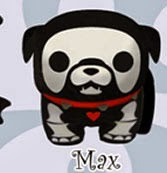 Peluche Skelanimals Bulldog Max