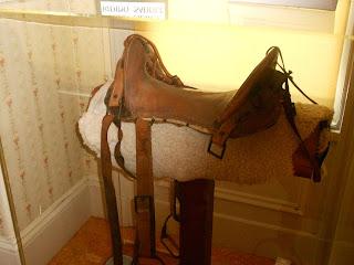 john muir riding saddle