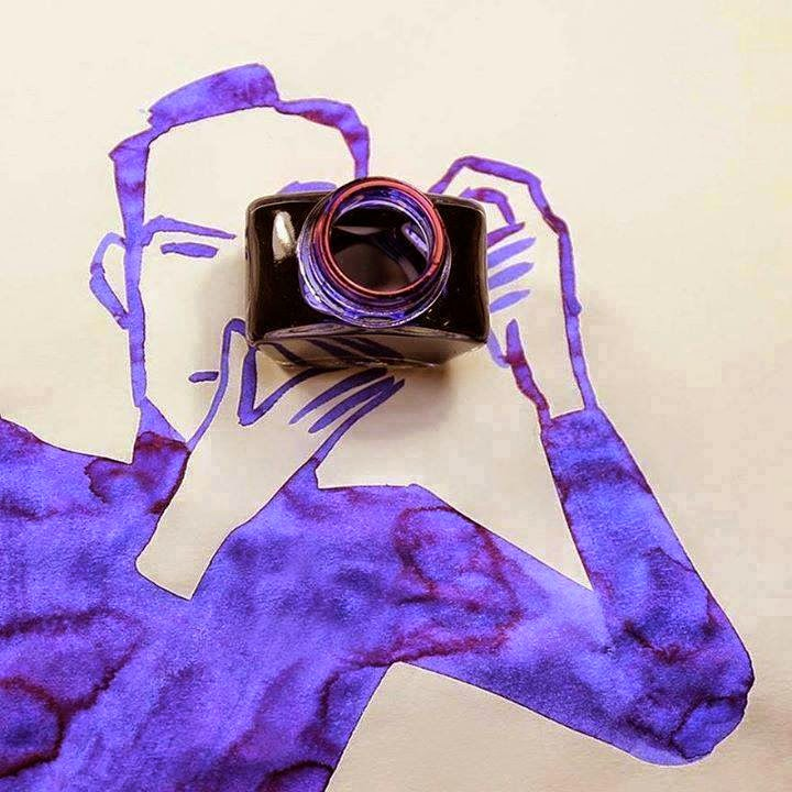 Creative Sketches That Incorporate Everyday Objects!