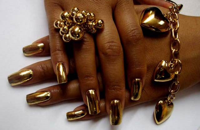Nail Art Quality Minx Nails Designs Hot Nail Trend For 2011 Fashion