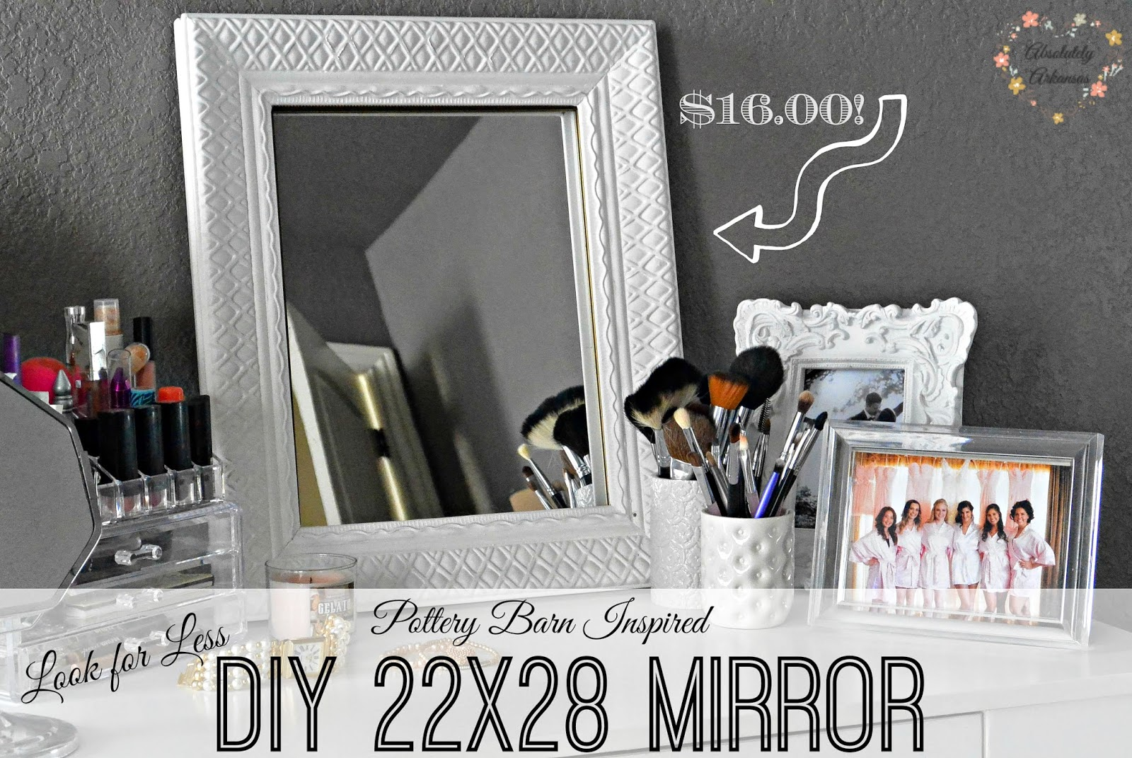 large mirror diy