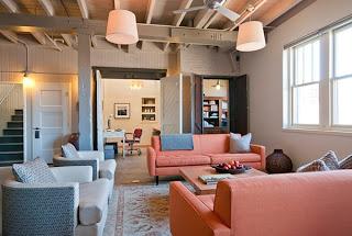 ruang+tamu+warna+pink Kombinasi Warna Interior Untuk Rumah Modern