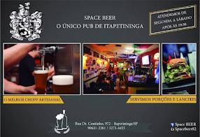 SPACE BEER O ÚNICO PUB DE ITAPETININGA