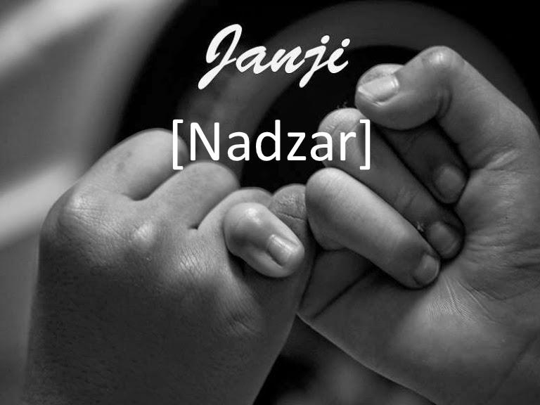Nazar dalam Islam, Pengertian Nadzar