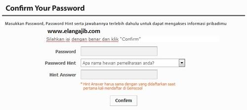 Gemscool Gunakan Sistem Password Hint Bagi Seluruh Gamers