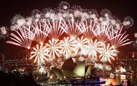 Ya comenzaron los festejos por la llegada del Año Nuevo
