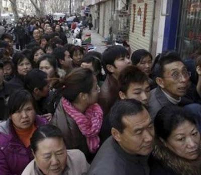 """PANICO EN CHINA POR EL """"FIN DEL MUNDO"""""""