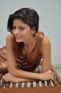 Actress Gehana Vasisth  Stills in Sleeveless Long Dress  252813.jpg