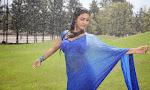 Neelam Upadhyay pics in Blue saree-thumbnail