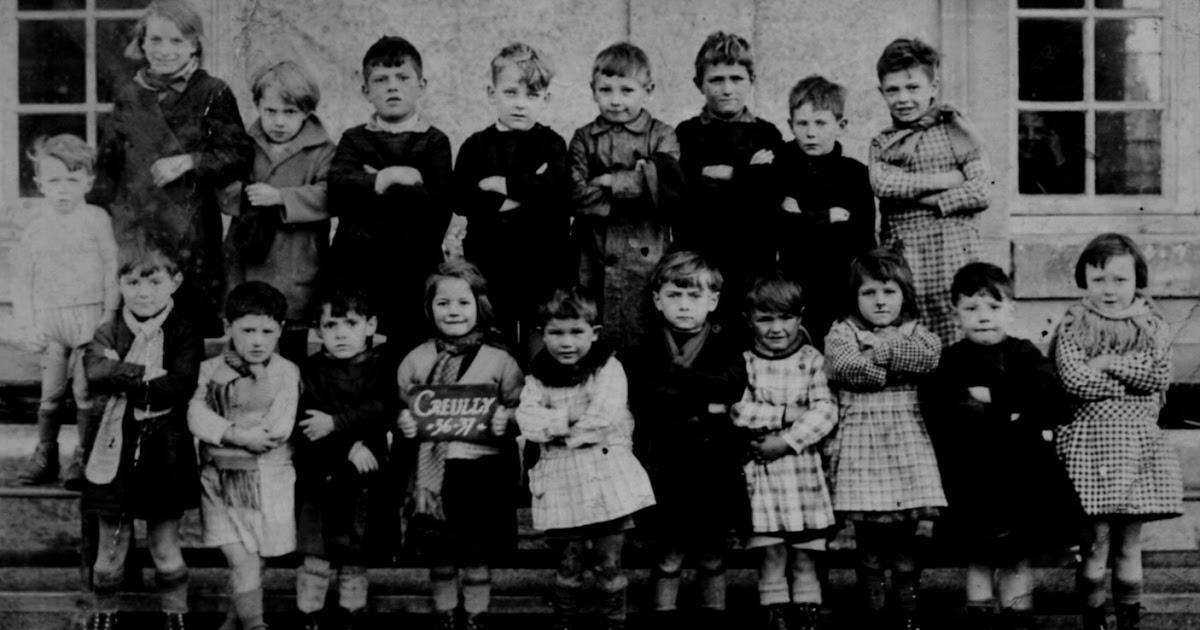 Creully En Normandie 1936 37 Les Enfants De L 233 Cole De