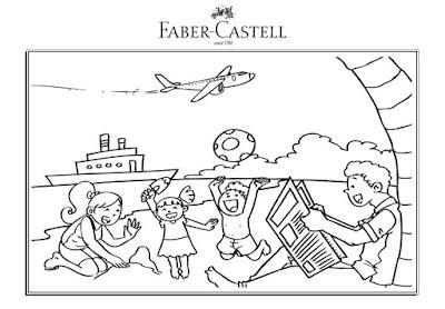"""Kontes """"Fun Holiday with Faber-Castell"""" Berhadiah Bingkisan Menarik"""