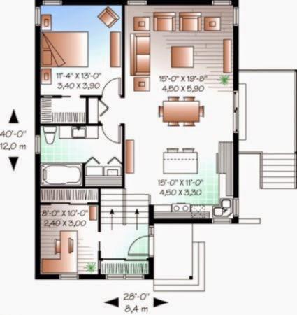 Desain Dan Denah Rumah Minimalis Type 36  Minimalist Trend 2015