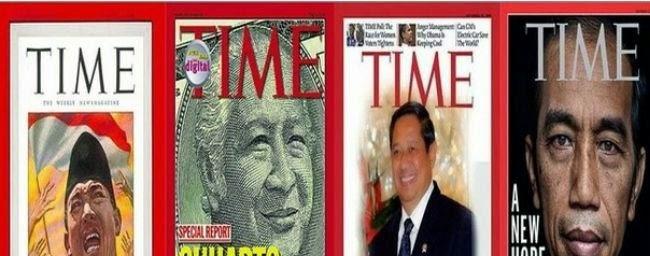 Empat Presiden Indonesia yang Menjadi Sampul Majalah Time