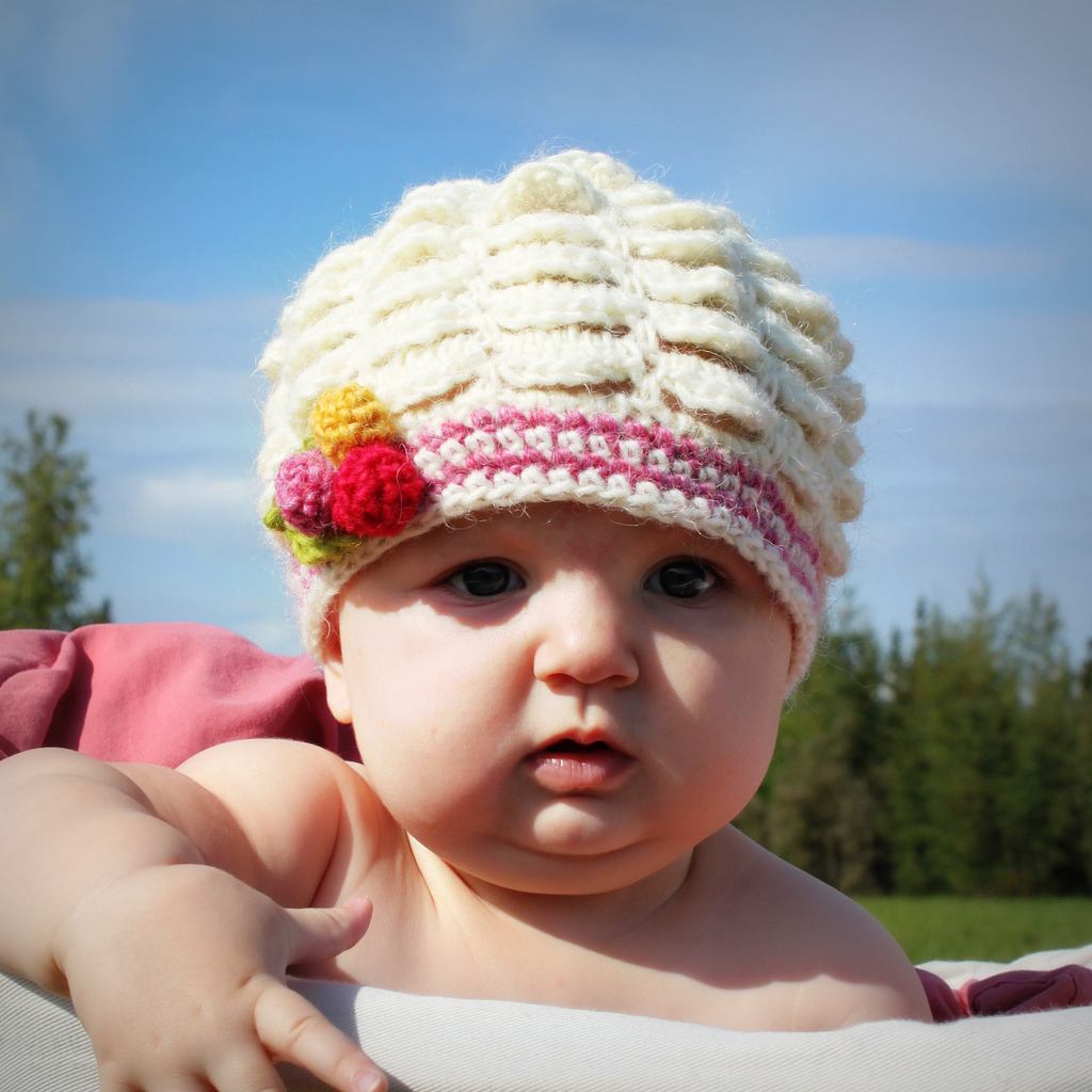 Crochet baby hat knitting gallery
