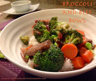Broccoli and Beef Bowl