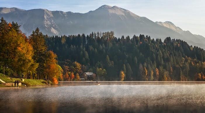 Красота озера Блед