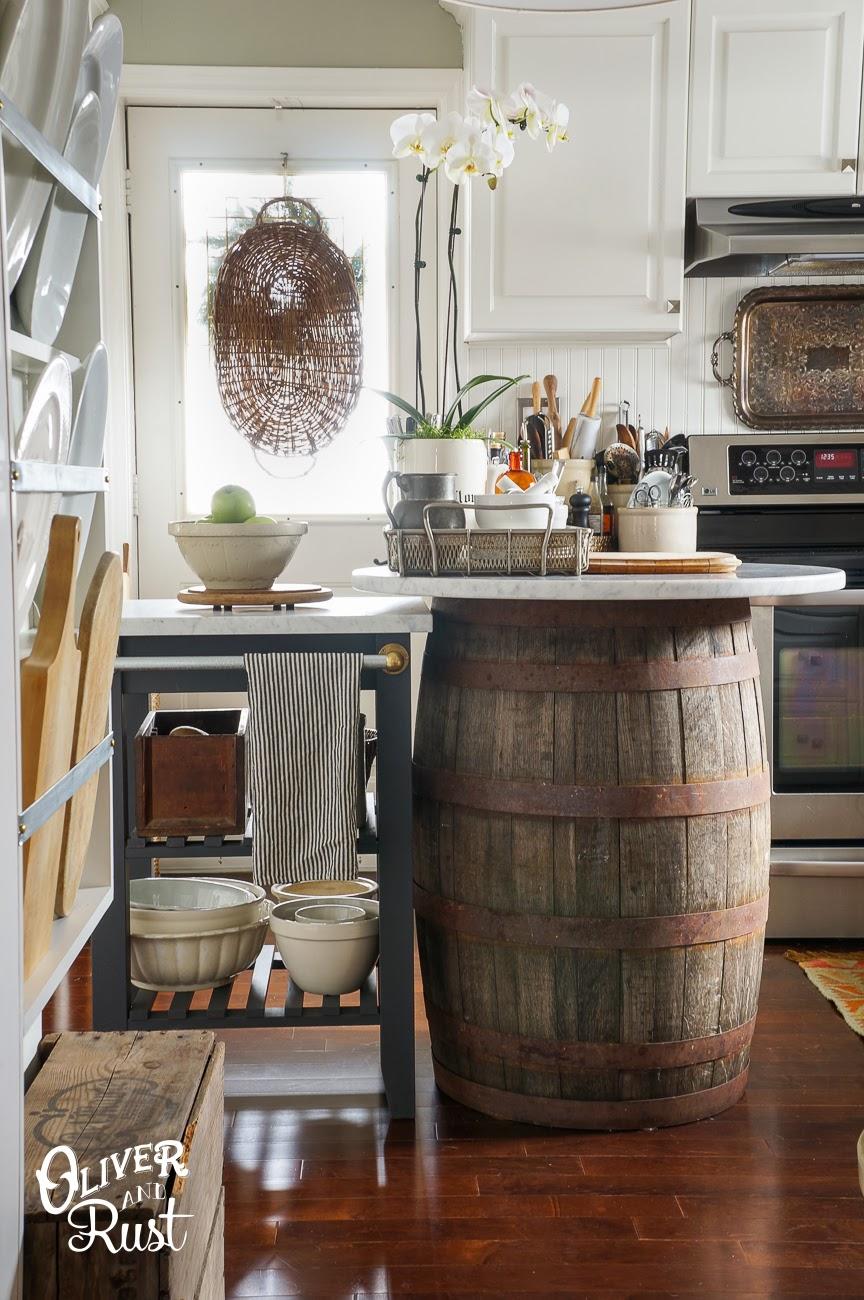 Plate Rack Kitchen DIY & Oliver and Rust: Plate Rack Kitchen DIY