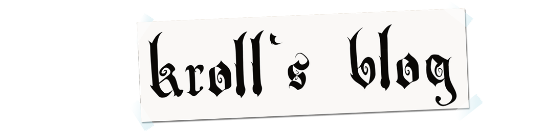 Kroll's blog