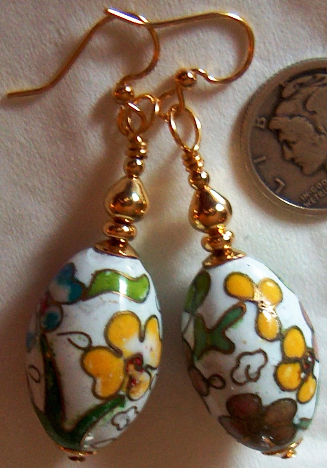 Easter Egg Earrings Ask Resa !