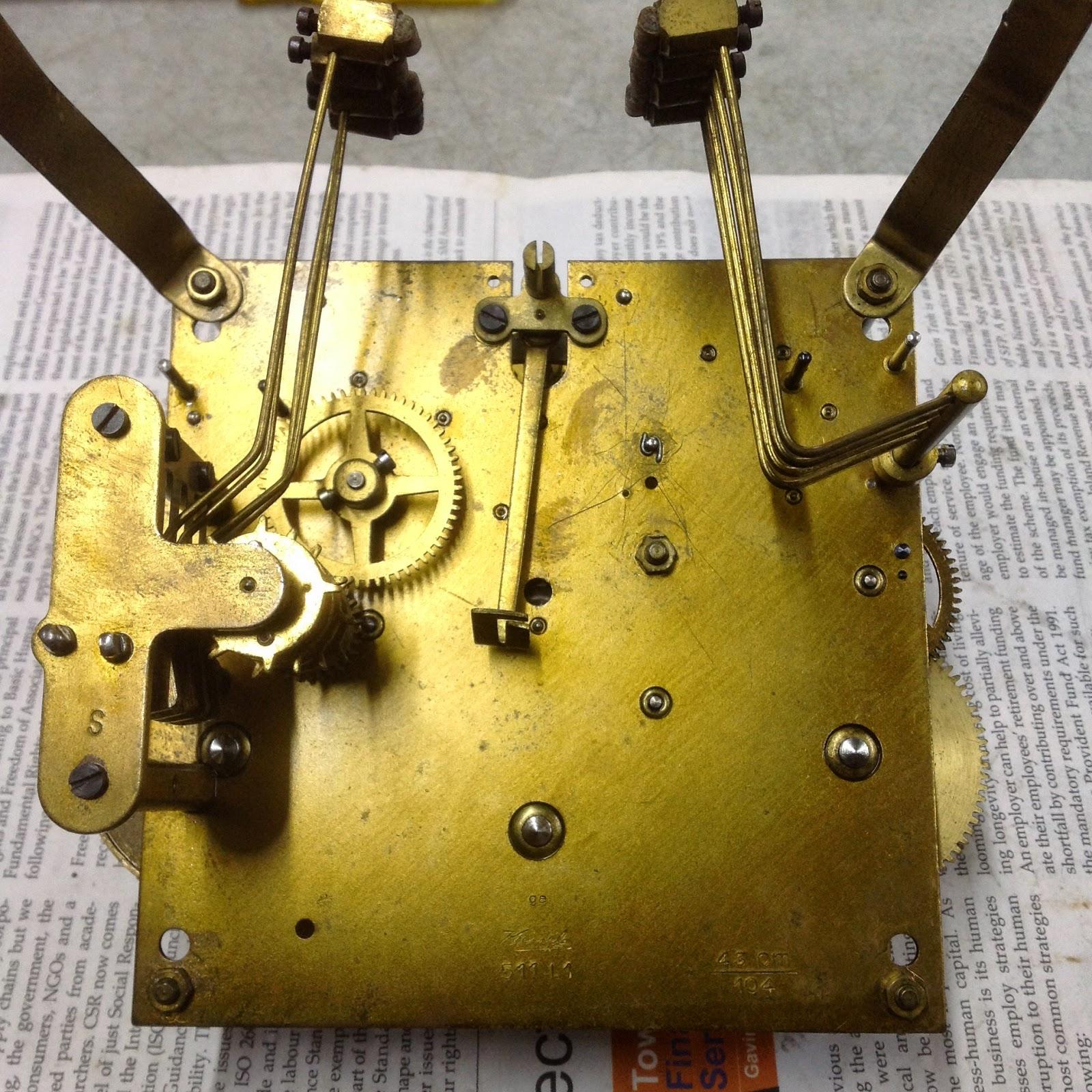Clock repair in kuala lumpur kienzle vintage wall clock for Kienzle wall clock parts
