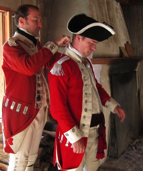 47th Foot in North America, 1772-1781: Redcoat Uniforms, Part 2 ...