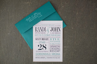 fun wedding calligraphy custom stamp
