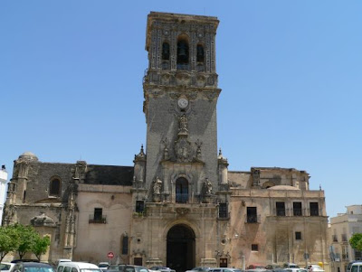 Basilica de Santa María de la Asunción en Arcos de la Frontera