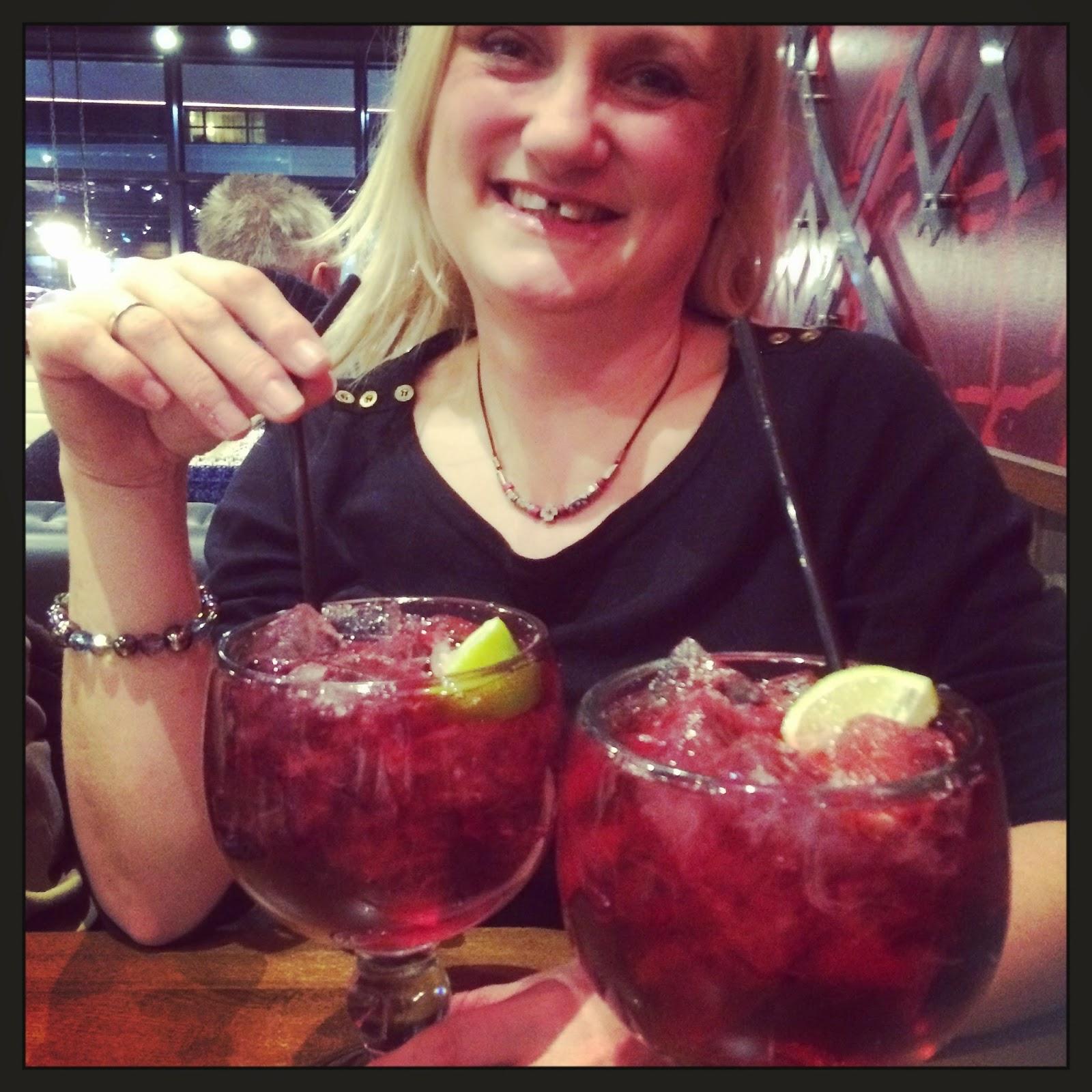 WooWoo Cocktails at TGI Fridays