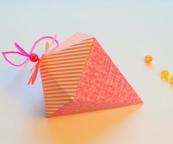 Sådan laver du en papir diamant