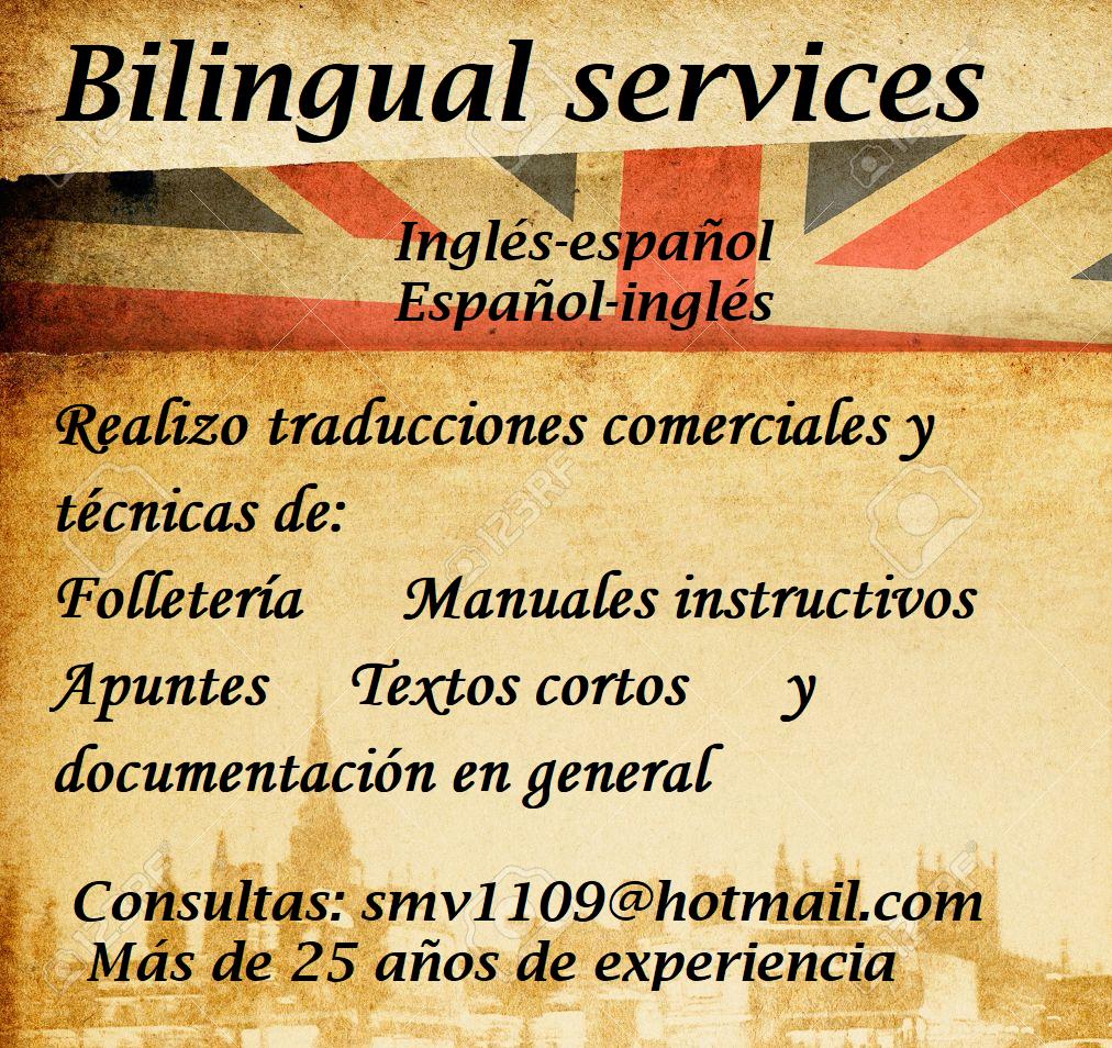 Servicios bilingues