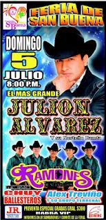 julión Álvarez Feria San Buena 2015