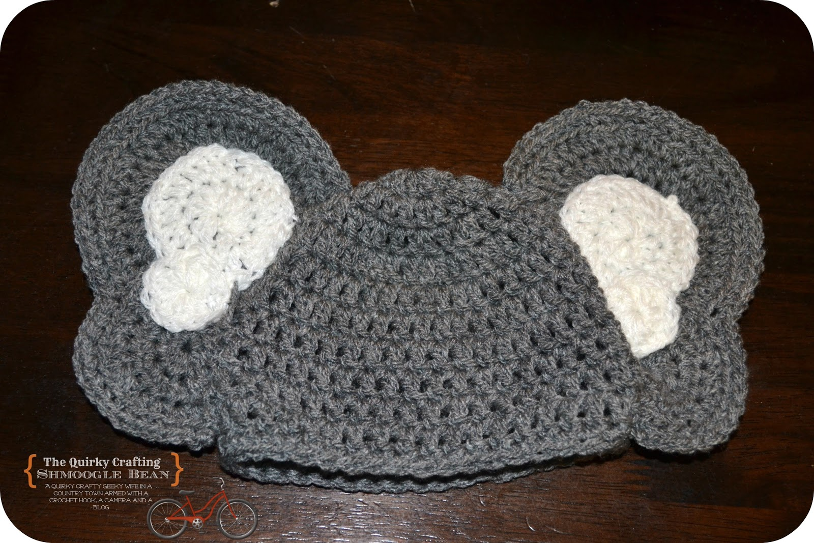 Crochet Pattern For Baby Elephant Hat : The Quirky Crafting Shmoogle Bean: Newborn Baby Heffalump ...