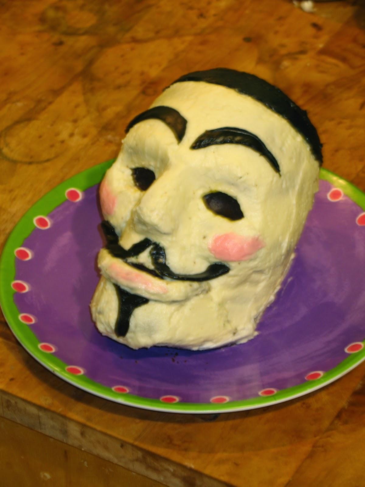 Guy Fawkes Day Cake Recipe