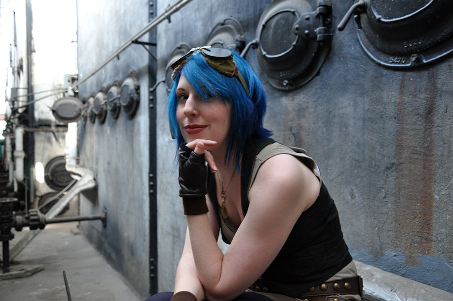 Chronicle of a Lady : Steampunk Hairstyles for Srt Hair