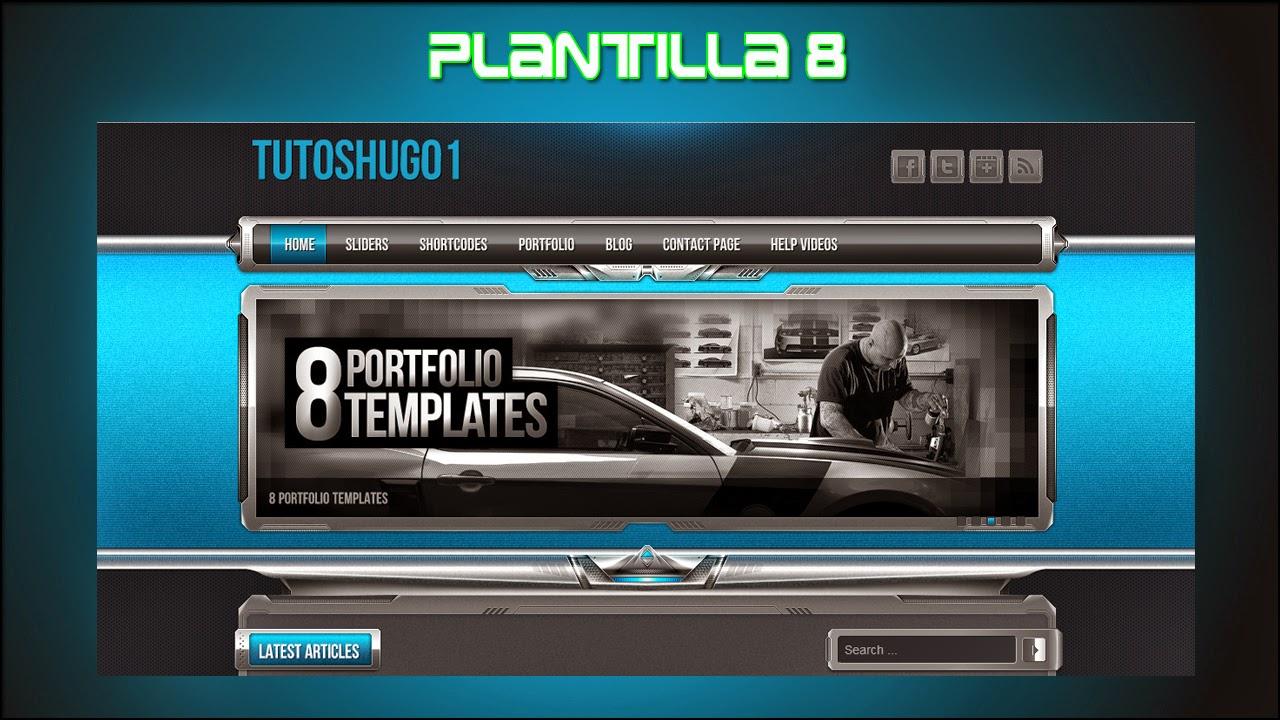 TutosHugo: PLANTILLAS PARA BLOGGER