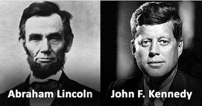 Abraham Lincoln ve John F. Kennedy Suikasti Benzerlikleri, John F. Kennedy suikasti, Kennedy suikastının gizemi, Kennedy suikasti gerçeği, Lincoln ve Kennedy arasında ne gibi benzerlikler var? Kennedy ve Lincoln suikastlari tesadüf mü? Kennedy suikasti nedir? Mucize tesadüfler. Lincoln ve Kennedy'nin kesişen kaderleri. Lincoln ve Kennedy suikastleri arasındaki ortak noktalar.Lincoln ve Kenndy mucizesi. İki ABD başkanı arasındaki ilginç tesadüfler. Başkan Kenedi suikasti hakkında ilginç bilgiler..