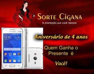 Participe do Sorteio de um Celular Samsung Galaxy Ace 4 Lite Duos G313M