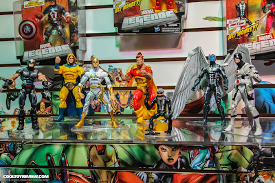 Hasbro 2013 Toy Fair Display Pictures - Marvel Legends - Series 1