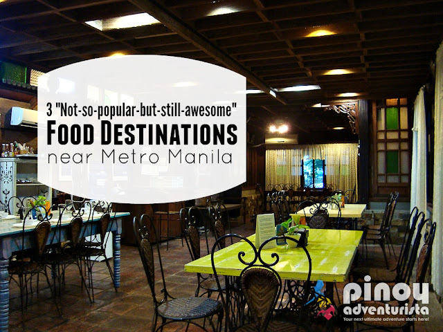 Best Unknown Dining Food Destinations near Manila