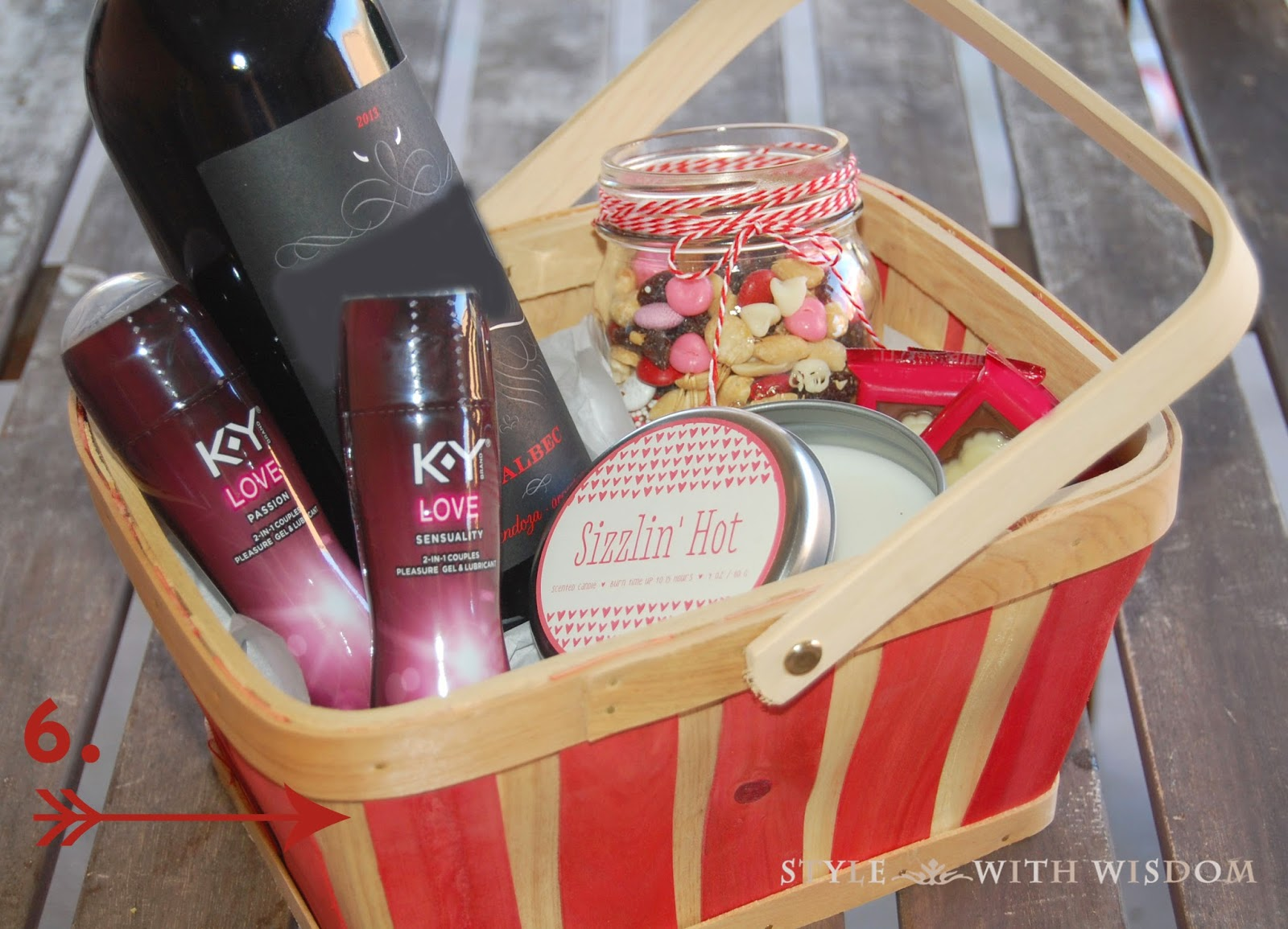 Valentine's Day Gift Basket Tutorial